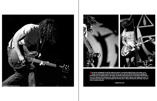 Photofantasm Soundgarden Lollapalooza